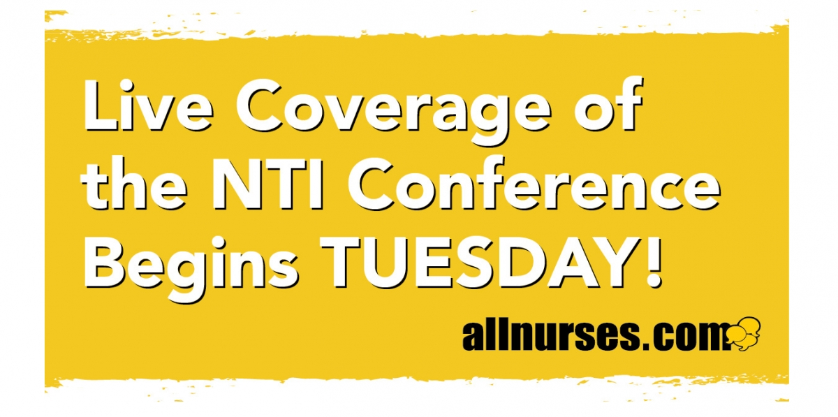 Who is attending NTI? We are!