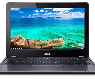 View the product Acer C740 Chromebook