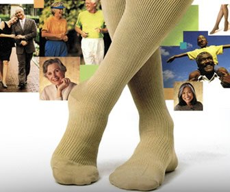 View the product Allegro Compression Hosiery for Men and Women