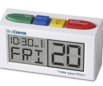 View the product Hopkins Talking Alarm Clock Medication Reminder