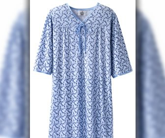 View the product Women's Soft Knit Comfortable Full Coverage Hospital Gowns by Silvert's