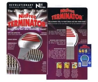 View the product NitFree Terminator Comb by Neon NitsⓇ