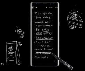 View the product Samsung Galaxy Note8