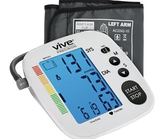 View the product Vive Health Digital Blood Pressure Monitor