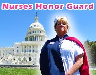Julie Godby Murray - Nurse Honor Guard - Nurses Take DC 2018