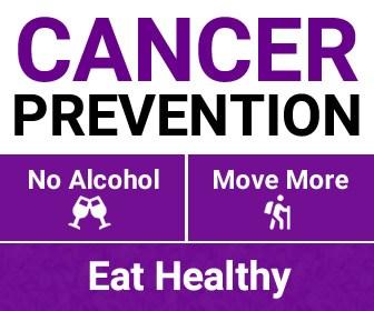 No Alcohol, More Activity for Cancer Prevention