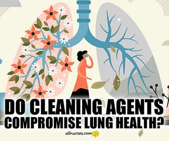 Cleaning Products May Increase Risk for COPD in Nurses