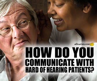 Communicating with Hard of Hearing Patients