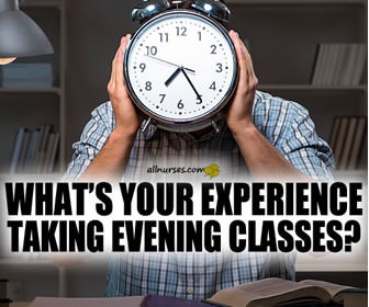 Pros and Cons of Taking Evening Classes