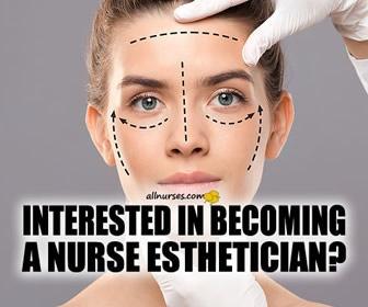 How do I become a nurse esthetician?