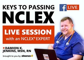 allnurses NCLEX facebook Live Event - Find Out the NCLEX Keys to Success