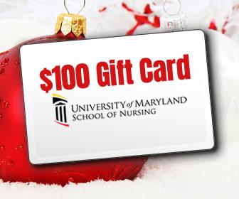 $100 Gift Card courtesy of University of Maryland