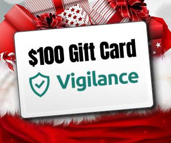 $100 Gift Card courtesy of Vigilances