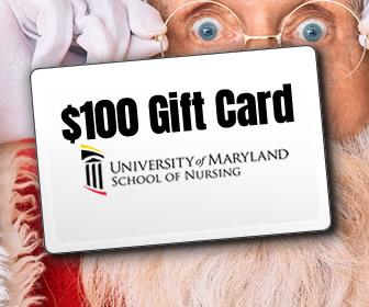 $100 Gift Card courtesy of Universtiy of Maryland